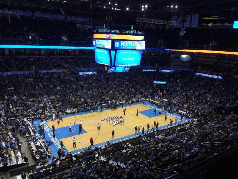 Chesapeake Energy Arena, section: 311