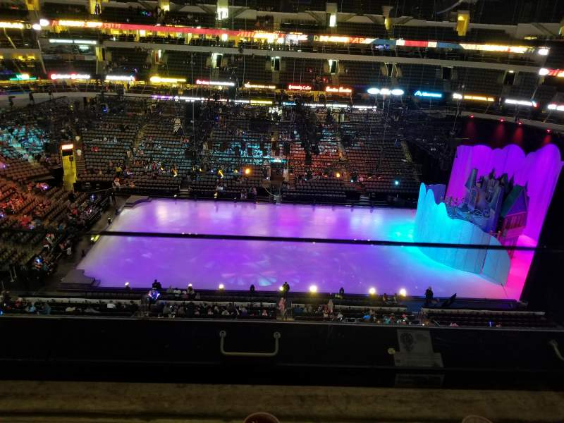 American Airlines Center, section: 310, rangée: A, siège: 5