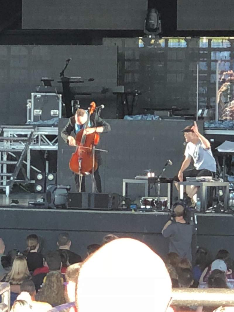 Hollywood Casino Amphitheatre (Maryland Heights), section: Right center, rangée: BB, siège: 8
