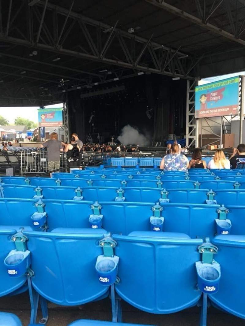 Hollywood Casino Amphitheatre (Maryland Heights), section: Upper right, rangée: JJ, siège: 14
