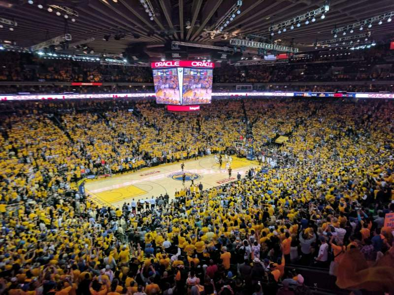 Oracle Arena, section: M15, rangée: 2, siège: 3
