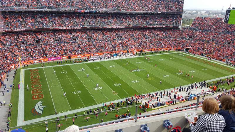 Invesco Field at Mile High, section: 512, rangée: 4, siège: 10