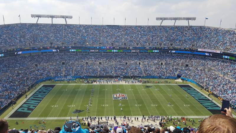 Bank of America Stadium, section: 515, rangée: 31, siège: 22