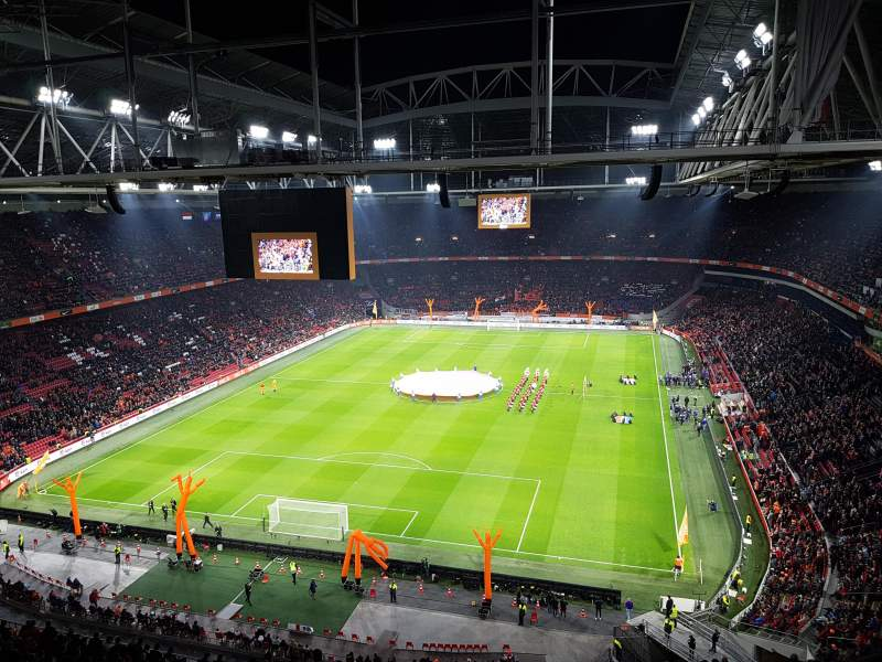 Amsterdam Arena, section: 412, rangée: 26