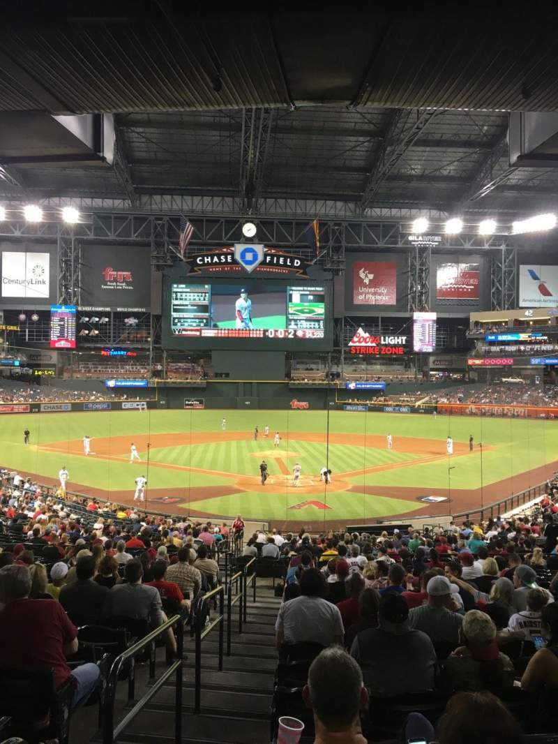 Chase Field, section: 122