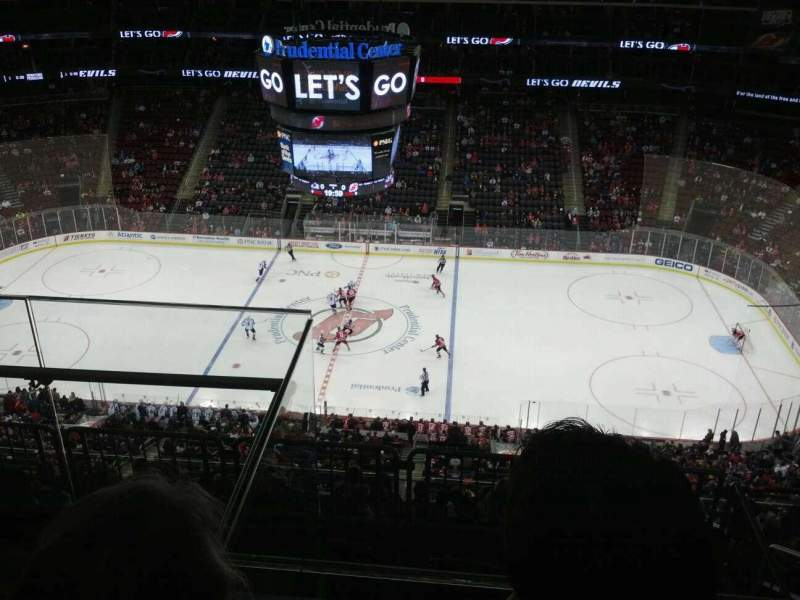 Prudential Center, section: 213, rangée: 3, siège: 18