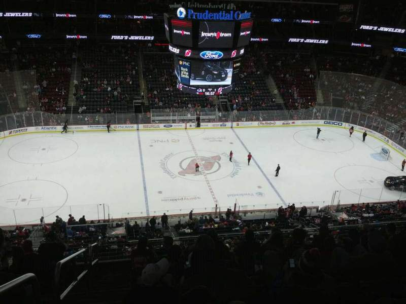 Prudential Center, section: 111, rangée: 8, siège: 19