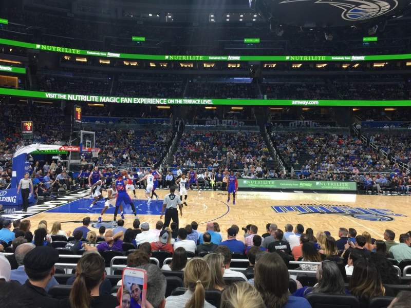 Amway Center, section: 115, rangée: 7, siège: 9