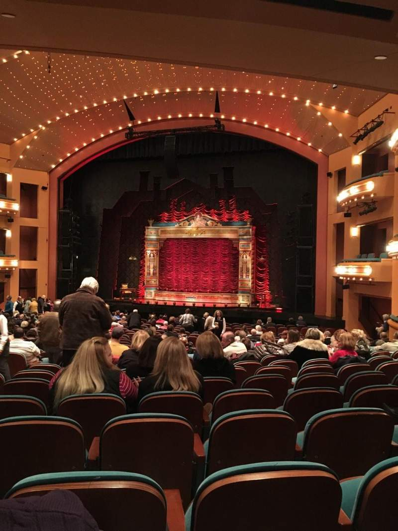 Procter And Gamble Hall at the Aronoff Center, section: RORCH, rangée: X, siège: 307
