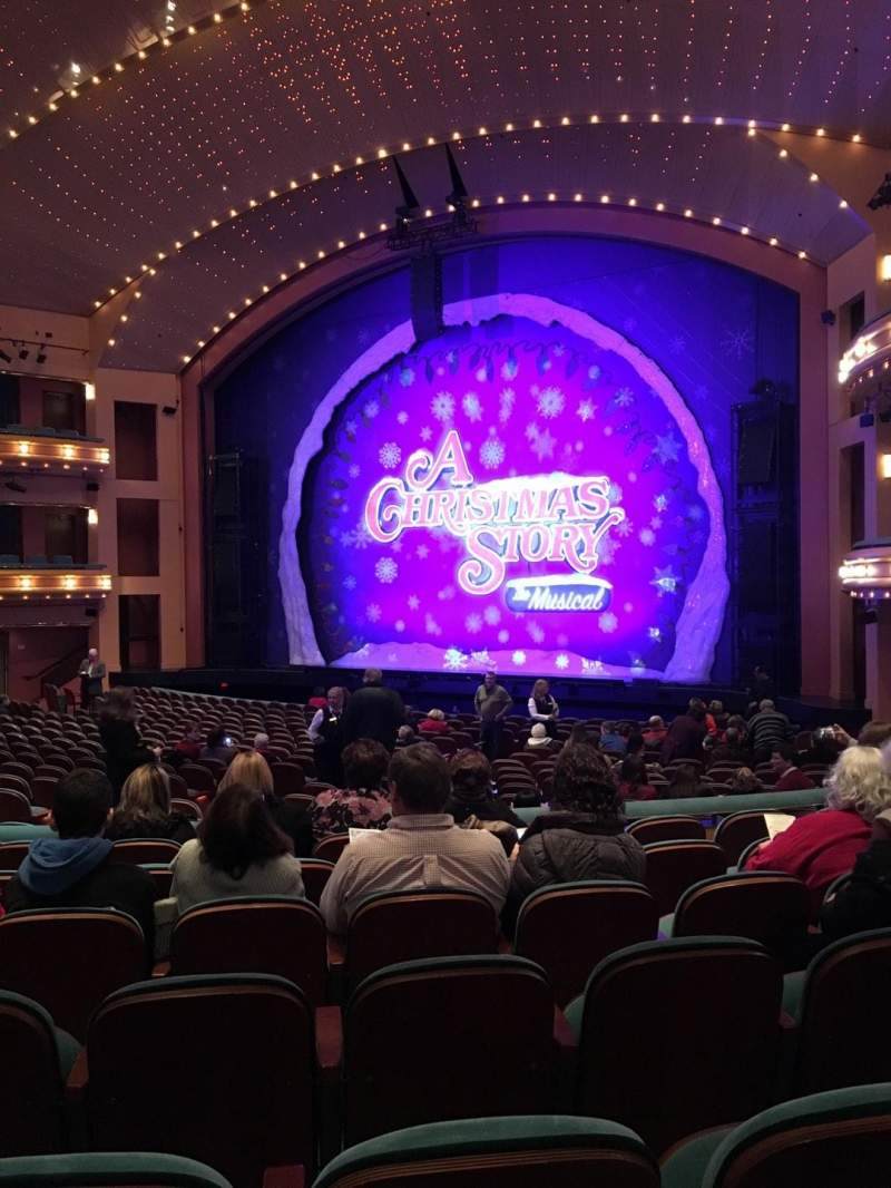 Procter And Gamble Hall at the Aronoff Center, section: RORCH, rangée: V, siège: 314