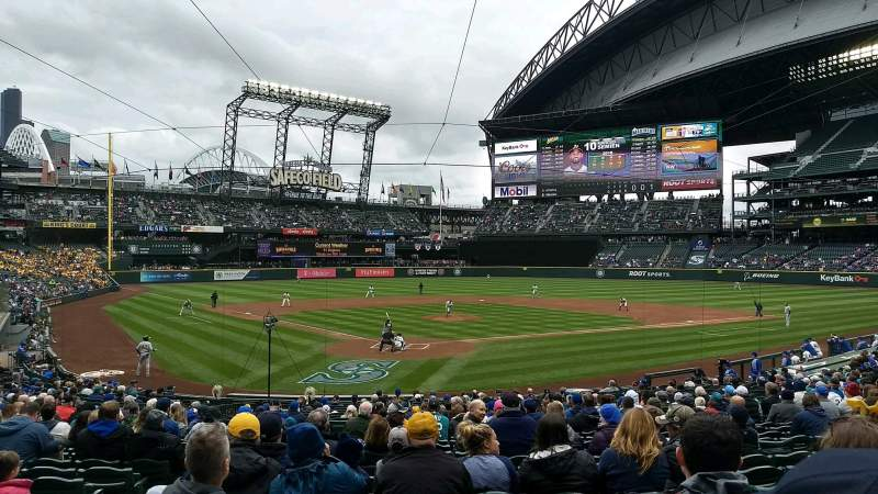 Safeco Field, section: 128, rangée: 26, siège: 11