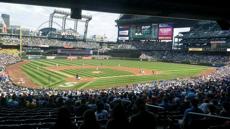 Safeco Field, section: 128, rangée: 42, siège: 2