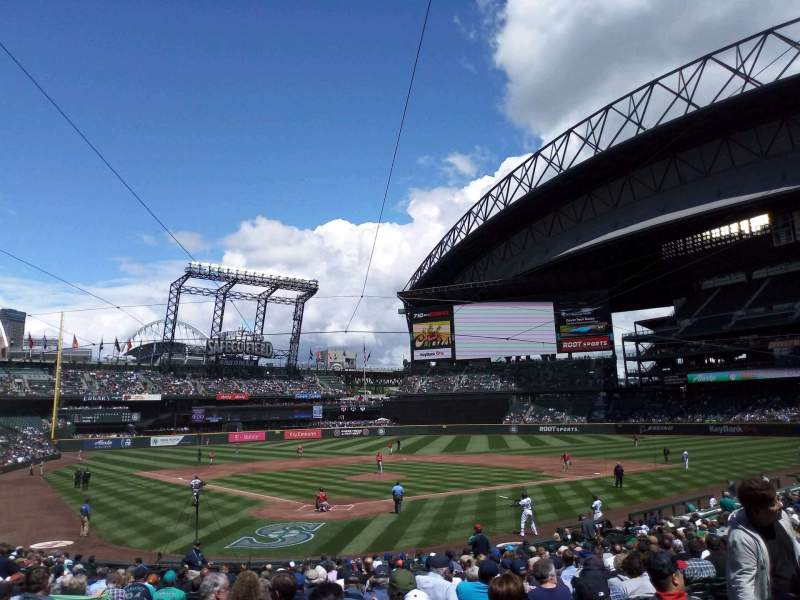 Safeco Field, section: 128, rangée: 26, siège: 10