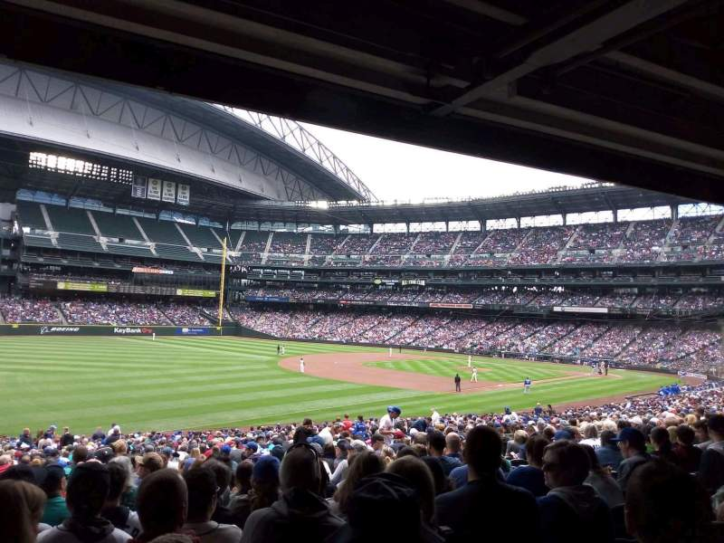 Safeco Field, section: 146, rangée: 38, siège: 19