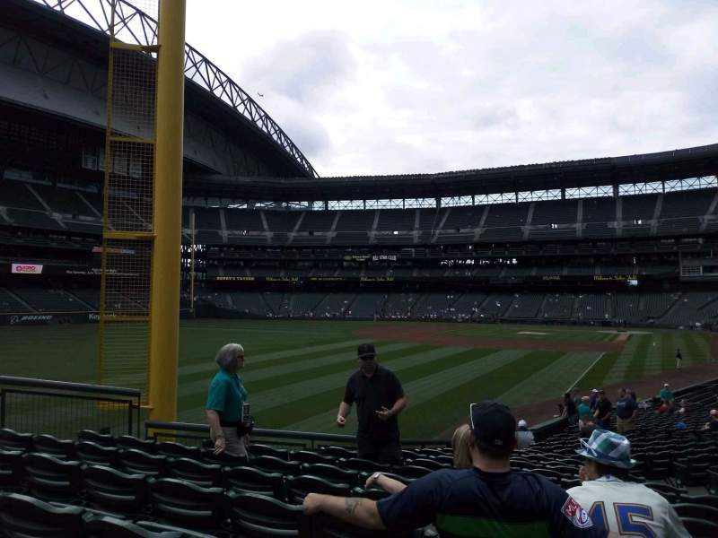 Safeco Field, section: 150, rangée: 30, siège: 7