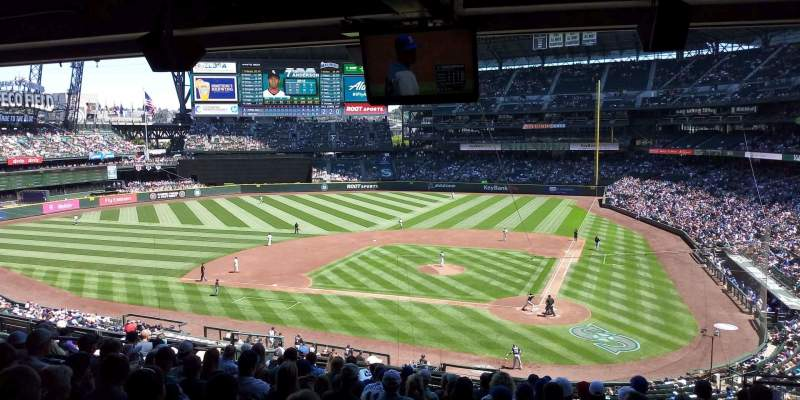 Safeco Field, section: 233, rangée: 13, siège: 5