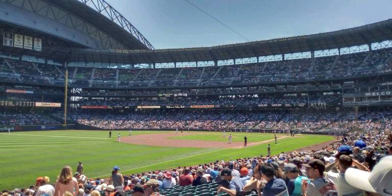 Safeco Field, section: 147, rangée: 26, siège: 4
