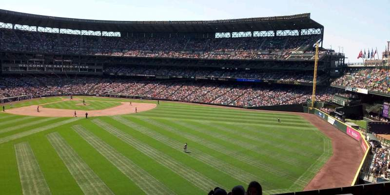 Safeco Field, section: 149, rangée: 10, siège: 3