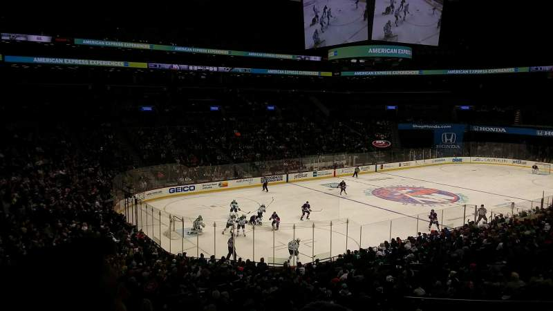 Barclays Center, section: 112, rangée: 5, siège: 1