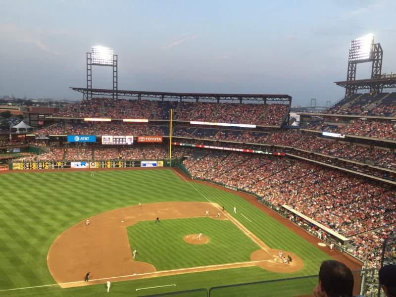 Citizens Bank Park, section: 427, rangée: 4, siège: 6