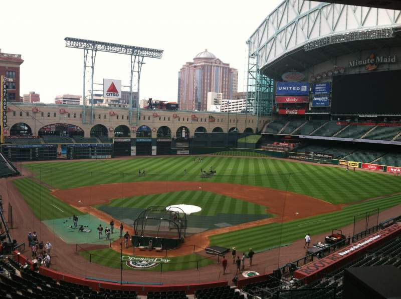 Minute Maid Park, section: Press Box