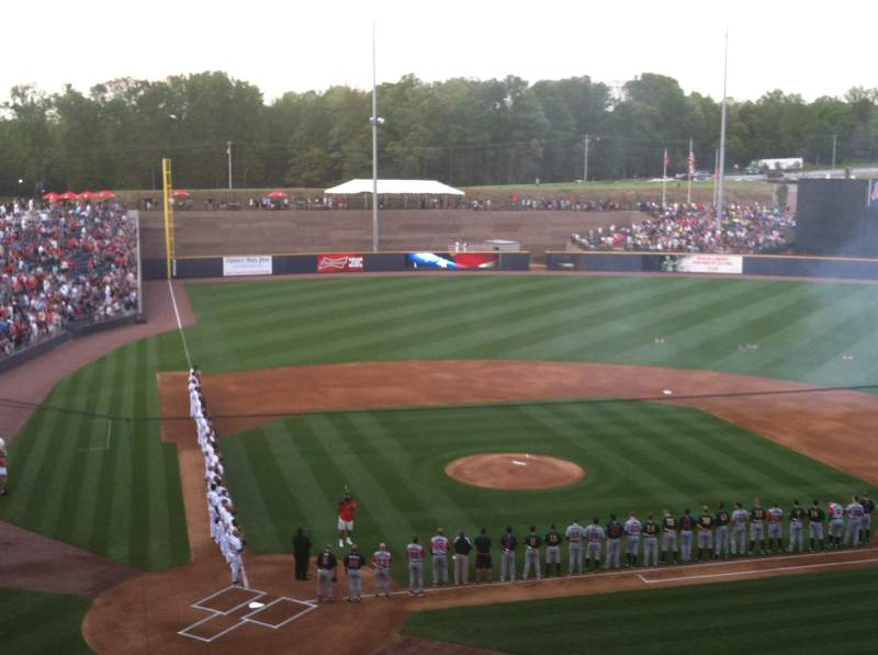 Coolray Field, section: Suite 13, rangée: 2