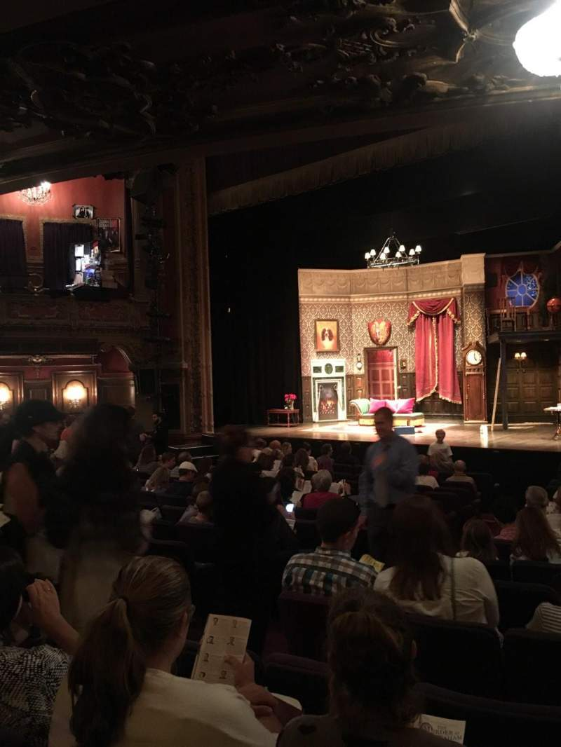 Lyceum Theatre (Broadway), section: Orch, rangée: X