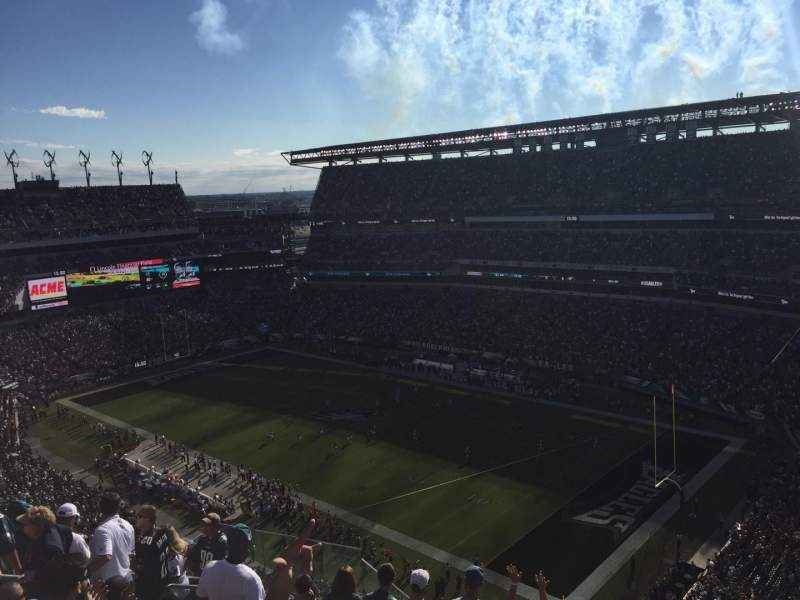 Lincoln Financial Field, section: 231, rangée: 15, siège: 11