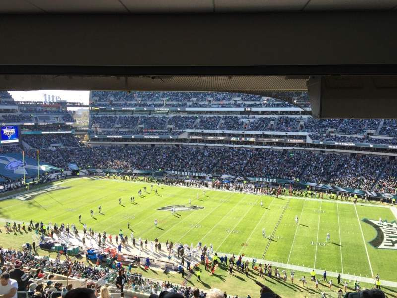 Lincoln Financial Field, section: CS111