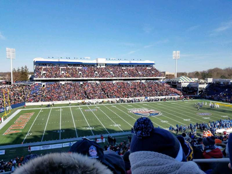 Navy-Marine Corps Memorial Stadium, section: 107, rangée: 7, siège: 9