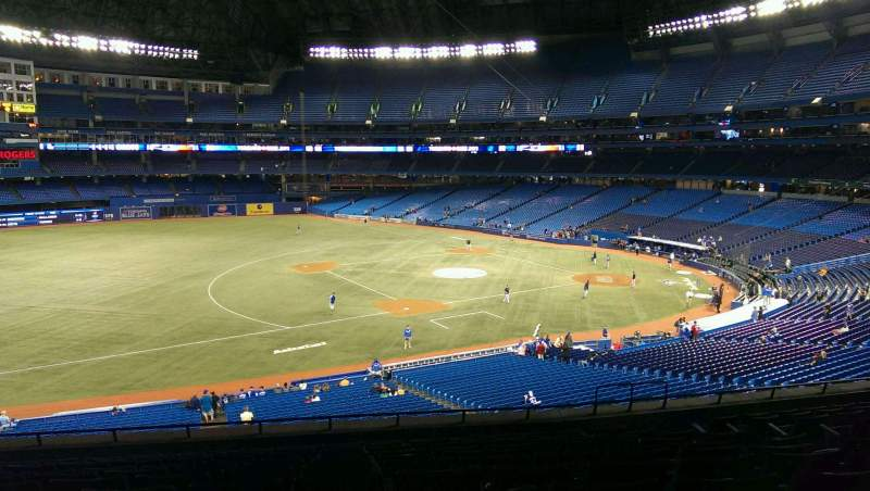 Rogers Centre, section: 232