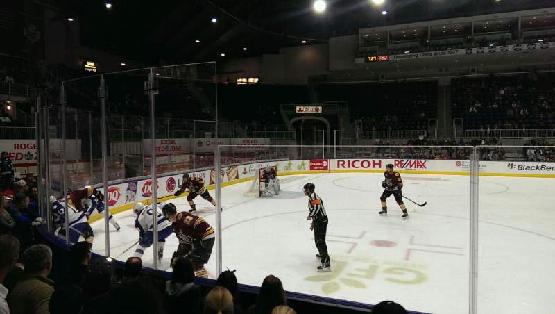 Coca-Cola Coliseum, section: 102, rangée: gg, siège: 12