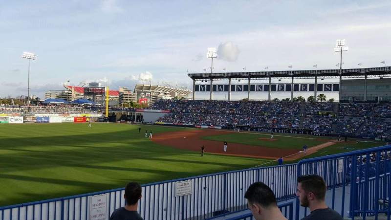 George M. Steinbrenner Field, section: 221, rangée: C, siège: 6