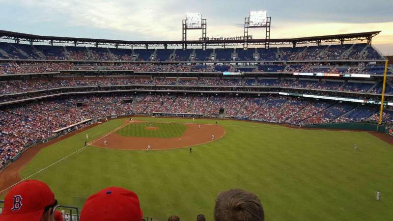 Citizens Bank Park, section: 301, rangée: 8, siège: 17