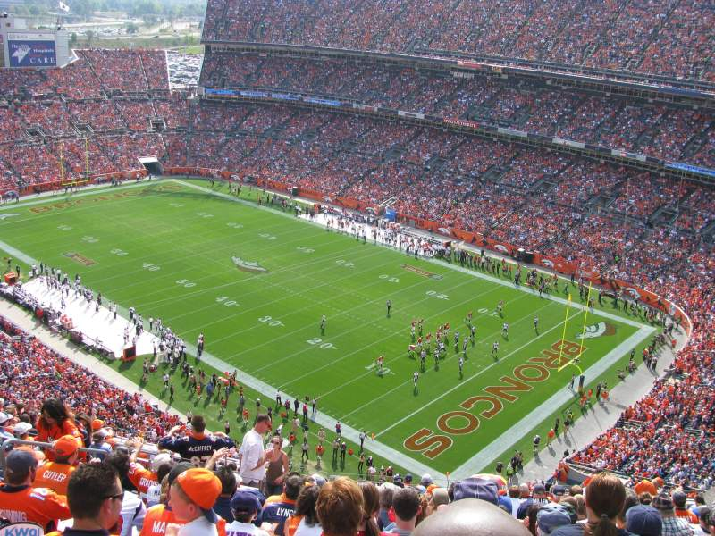 Invesco Field at Mile High, section: 527, rangée: 18, siège: 19