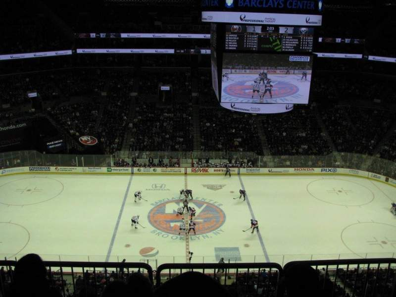 Barclays Center, section: 226, rangée: 6