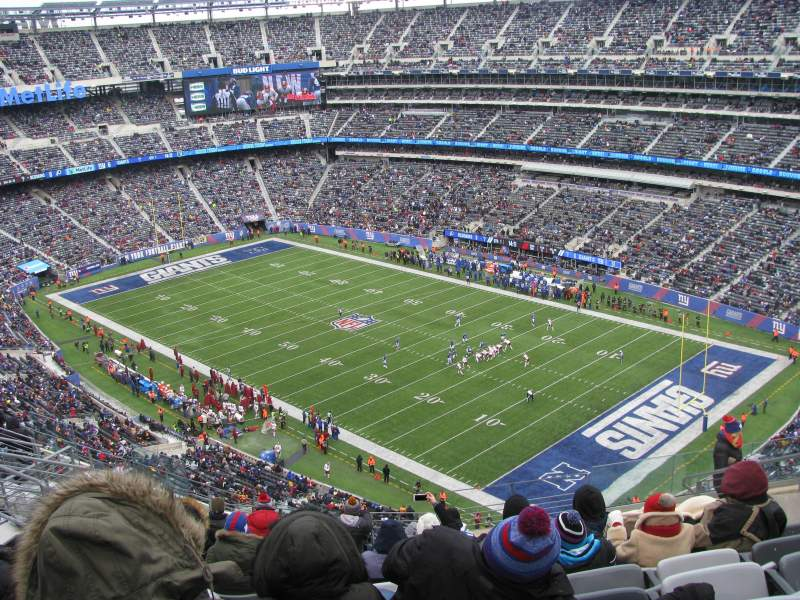 MetLife Stadium, section: 332, rangée: 15, siège: 10