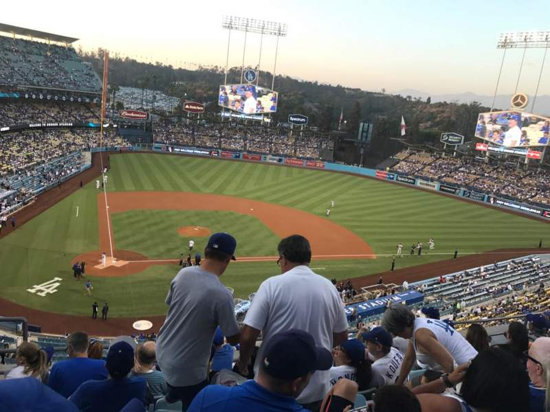 Dodger Stadium, section: 8Rs, rangée: G, siège: 3
