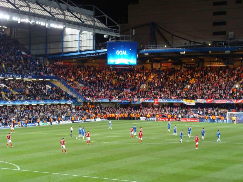 Stamford Bridge, section: Matthew Harding Lower, rangée: AA, siège: 328