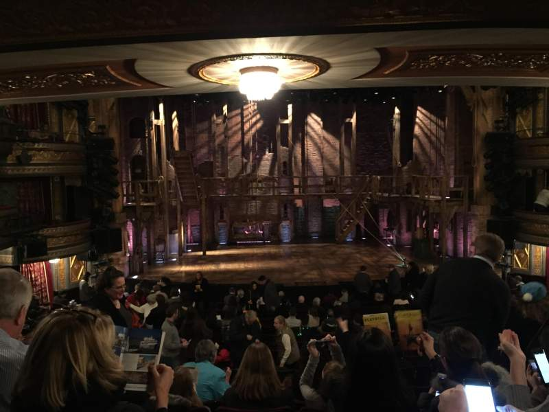 Richard Rodgers Theatre, section: Orchestra Center, rangée: S, siège: 110
